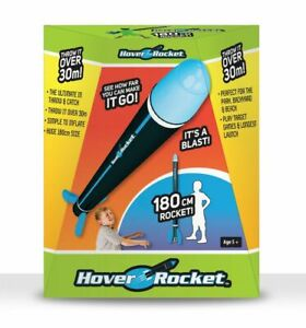HOVER ROCKET THROW AND CATCH 180cm TALL LUHOVROCK from Tates Toyworld