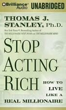 NEW 7 CD Stop Acting Rich : Start Living Like a Real Millionaire Thomas Stanley