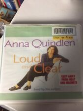 Anna Quindlen  Loud And Clear Audiobook Cds