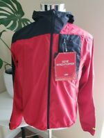 Nwt Gore Mens Bike wear Hooded Wind Stopper Jacket, Red M