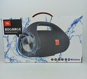 Boombox BT Speaker Portable jbl Waterproof Wireless Outdoor Black Loudspeaker
