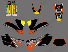 Team Graphics Backgrounds Decals for KTM EXC 125 200 250 300 400 450 525 2004