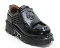 78 Chaussures pour Hommes Bottes en Cuir Plateforme 90er Gothique New Rock D 43