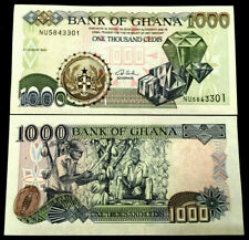 Ghana 1000 Cedis 2003 Banknote World Paper Money UNC Currency Bill Note