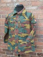 Belgian Army M90 Jacket Field Combat Parka / Smock Jigsaw Used Military Surplus