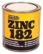U-pol Davids Zinc 182 Isopon 250ML Anti-Rust Grey Primer