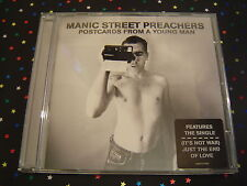 CD Manic Street Preachers - Postcards from a young man - sehr gut - It's not war