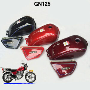 Cafe Racer Tank 9L Motorcycle Fuel Gas Can Petrol Tanks For Suzuki GN125