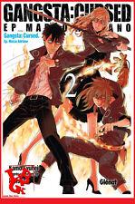 GANGSTA : Cursed 2 02  Glénat Manga Syuhei KAMO Français # NEUF #