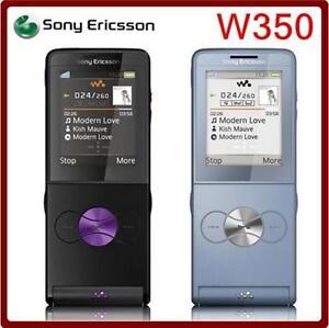 Mobile Phone Sony Ericsson W350 W350i 2MP GSM 2G Bluetooth GSM Original 1.3MP