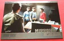 "STAR TREK TOS 50th Anniversary - MM46 ""MIRROR, MIRROR"" (uncut) - Foil Chase Card"