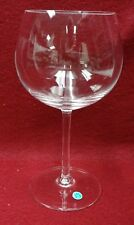 """TIFFANY crystal TFC7 Plain Bowl pattern Water Glass or Goblet - 7-1/8"""""""