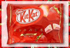 Kit Kat Strawberry Chocolate Nestle JAPAN Mini 12-Bars 5.04 Oz. USA Seller