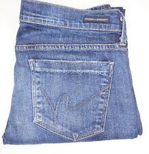 Citizens Of Humanity - Ava Low Waist Straight Leg Dark Wash Jeans - sz 32/32