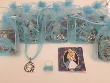 Alice In Wonderland Pre Filled Party Bags, Necklace, Sticker & Ring, Gift/Filler