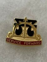 Authentic US Army 48th Transportation Group DI DUI Unit Crest Insignia IOH