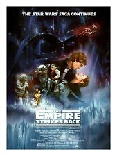 Movie Poster Print STAR WARS - THE EMPIRE STRIKES BACK 18x24""