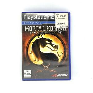 Mortal Kombat Deception (PS2) Complete With Manual   PlayStation 2 PAL