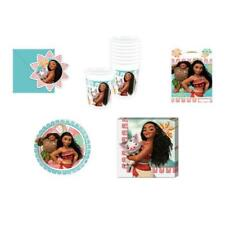 MOANA PARTY TABLE WEAR DECORATIONS PLATES CUPS NAPKINS PARTY BAGS INVITATIONS