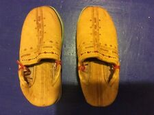Berber Moroccan Babouches Slippers for Boys Toddler Handmade Leather Size 9