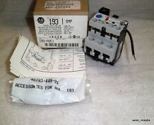 ALLEN BRADLEY 193-A2C1 SMP-1 SOLID STATE OVERLOAD RELAY, SER A, NIB *PZB*