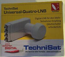 TechniSat Universal-Quatro--LNB 0007/8880  Neu /OVP