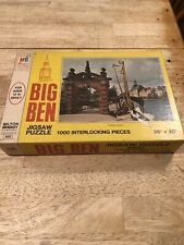Rare 1973 Big Ben Series Jigsaw Puzzle Sealed New Milton Bradley 70s 1000 pcs