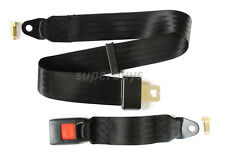 Quick Release Adjustable Car Bus Seat Belt 120cm Safe Lap Two 2 Point Seatbelt