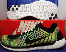 Womens Nike Free Flyknit iD 5.0 Multi-Color SZ 11 /// Mens SZ 9.5 ( 776625-006 )