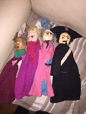 Stock Di 4 Marionette Vintage In Legno