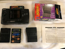 Sega Nomad Portable Handheld Game System Genesis Rechargeable Battery & Game