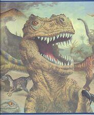 Nothing But Dinosaurs / Dinosaur Fierce & Proud Wallpaper Border FB075101B