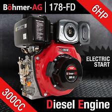 More details for portable diesel engine - 6hp single cylinder motor ~ yanmar, lombardini - bohmer