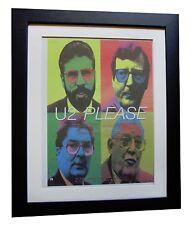 U2+Please+POSTER+AD+RARE ORIGINAL 1997+TOP QUALITY FRAMED+EXPRESS GLOBAL SHIP