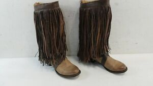 Stetson Women's Fringe Boots Size 8