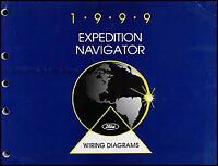1999 Expedition and Navigator Wiring Diagram Manual Ford Lincoln Electrical Book