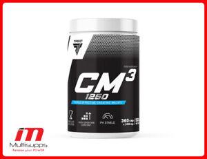 TREC CM3 Tri Creatine Malate 1250mg TCM King Size 90 180 360 Caps
