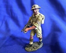 WW2 1:30 scale military figure Aus Infantry SGT by King and Country