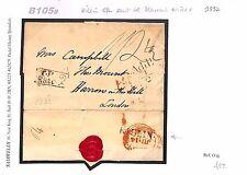 B105b 1832 GB Scotland Perth Killin AdditionL 1/2 Middx Harrow