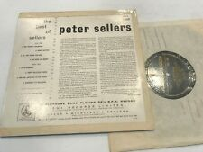 """Peter Sellers Best of 10"""" Record Parlophone UK Import w/Inner rare"""