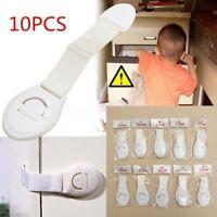 10x Baby Child Kids Cabinet Safety   Cupboard  Door Fridge Drawer