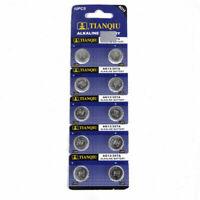 10PCS LR44 SR44 A76 L1154 AG13 357 New Alkaline Button Coin Cell Battery Pack