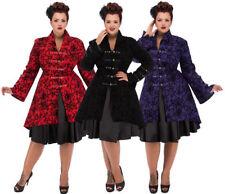 Button Cotton Gothic Coats & Jackets for Women