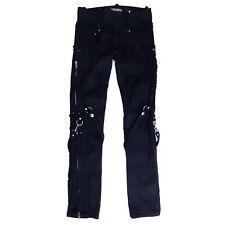 Lip Service Kill City Mod Black Skinny Mens Jeans 80s 90s Gothic Punk Size 31