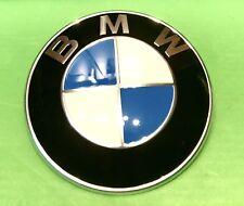 BMW E30 E36 E46 E90 E28 E34 E39 E60 F07 F10 E32 E38 Z1 Z3 Z4 X5 82mm Hood Emblem