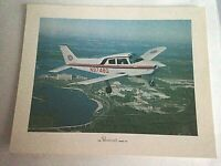 "Vintage 8"" x 10"" Color Photo Beechcraft Sport 150 Beech Aircraft Airplane"