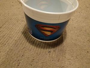 Large DC Comics Superman Returns 2006 Movie Popcorn Bucket