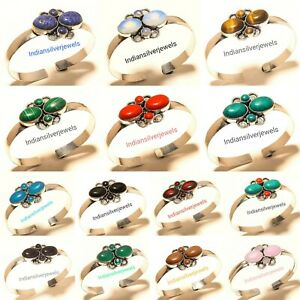 New Wholesale Lot Of Bracelets Mix Gemstone Handmade Fashion Jewelry 50pcs