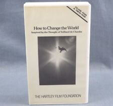 How to Change the World VHS Video Teilhard de Chardin Inspired Thought