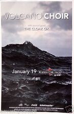 Volcano Choir / The Cloak Ox 2014 San Diego Concert Tour Poster - Ambient Music
